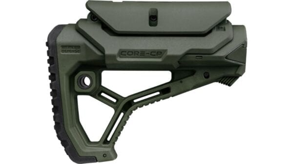 FAB DEFENSE GL CORE CP AR15 BUTTSTOCK MILSPEC OR COMMERCIAL GREEN