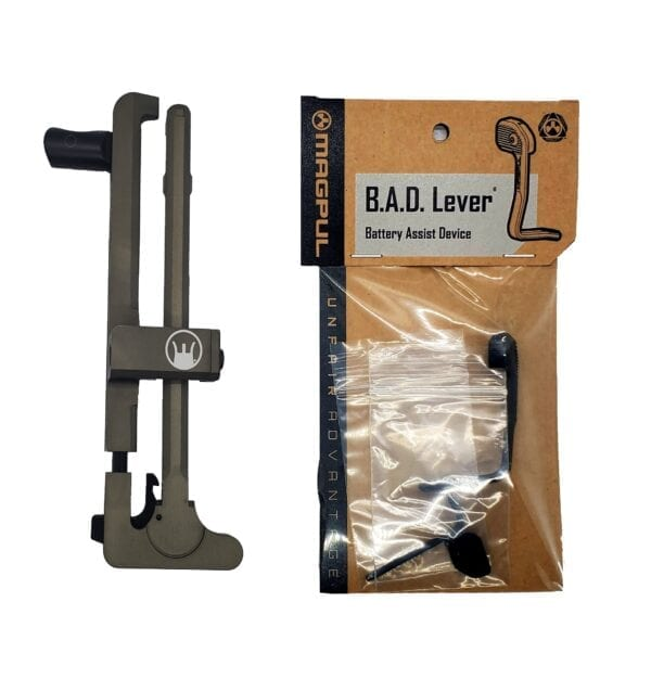 DEVIL DOG CONCEPTS HARD CHARGER TACTICAL ANODIZED WITH MAGPUL B.A.D. LEVER